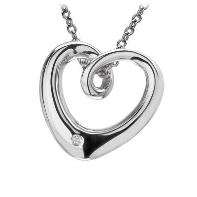 Hot Diamonds Go with the Flow Heart DP188 - Robert Openshaw Fine Jewellery