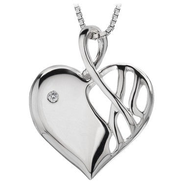 Hot Diamonds Eclipse Heart DP203 - Robert Openshaw Fine Jewellery