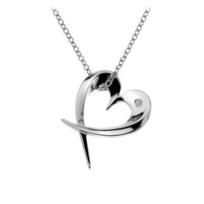 Hot Diamonds Entwine Heart DP368