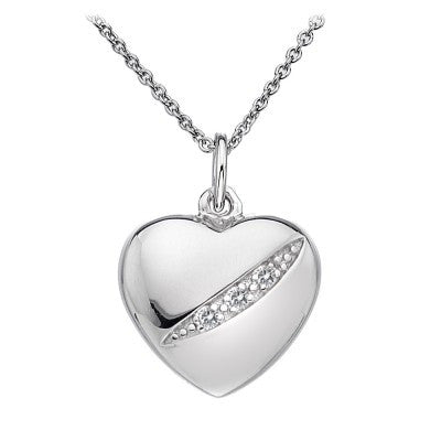 Hot Diamonds Shooting Stars Heart DP398