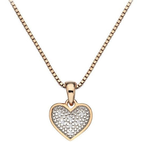 Hot Diamonds Stargazer Heart Pendant DP538