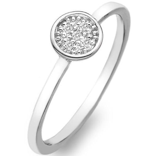 Hot Diamonds Stargazer Circle Ring DR131