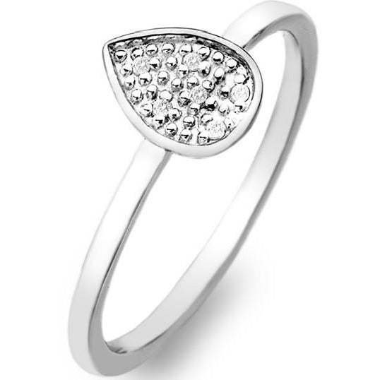 Hot Diamonds Stargazer Teardrop Ring DR141