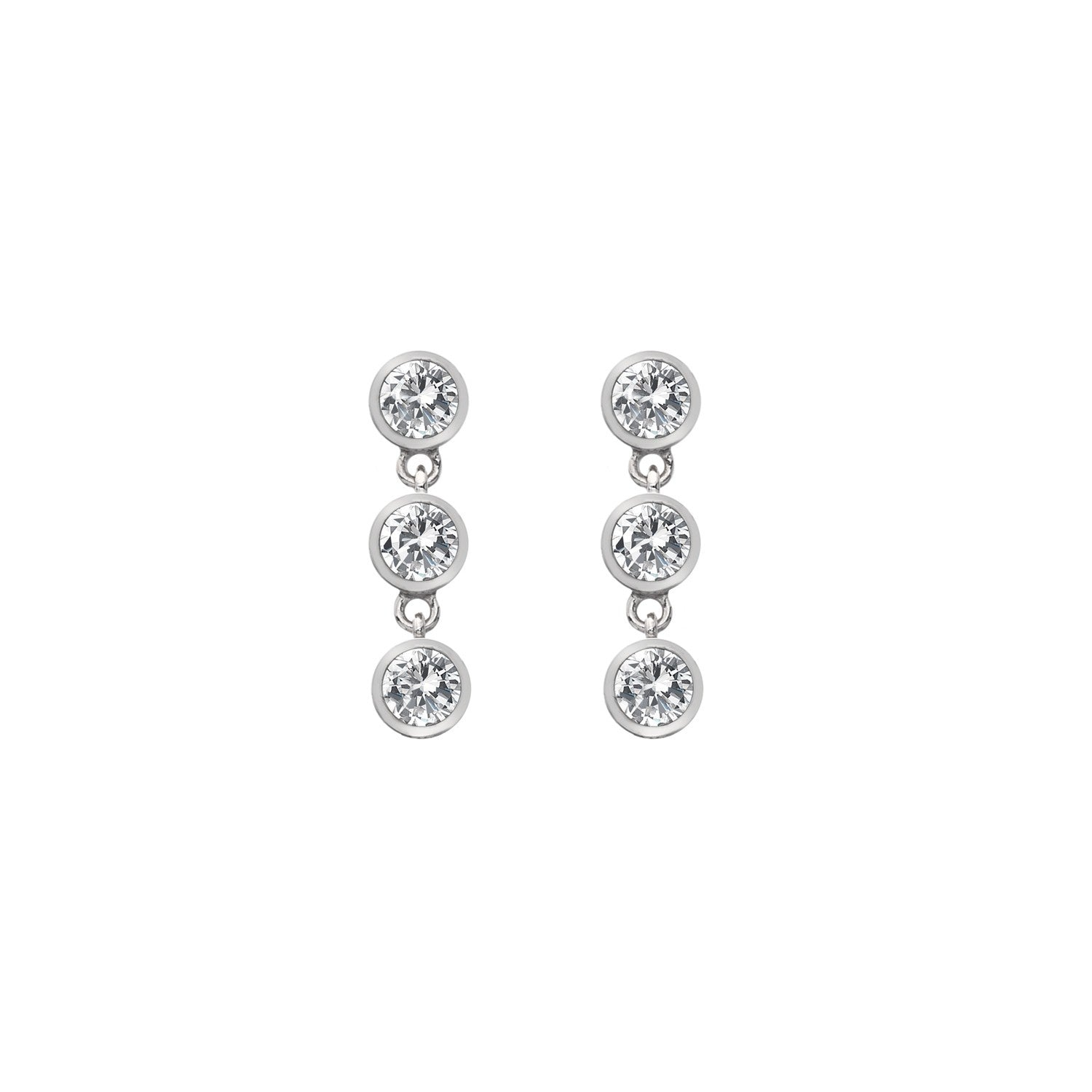 Hot Diamonds Silver Tender Earrings DE585
