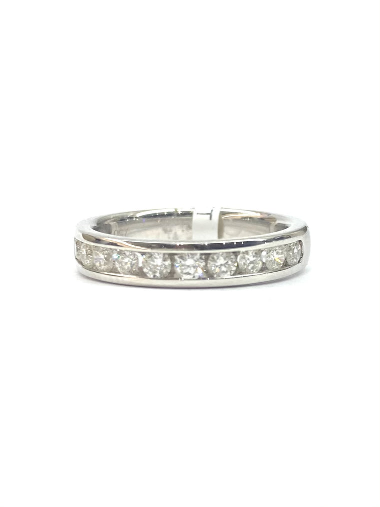 18ct White Gold 0.50cts Diamond Eternity Ring M00137-WG