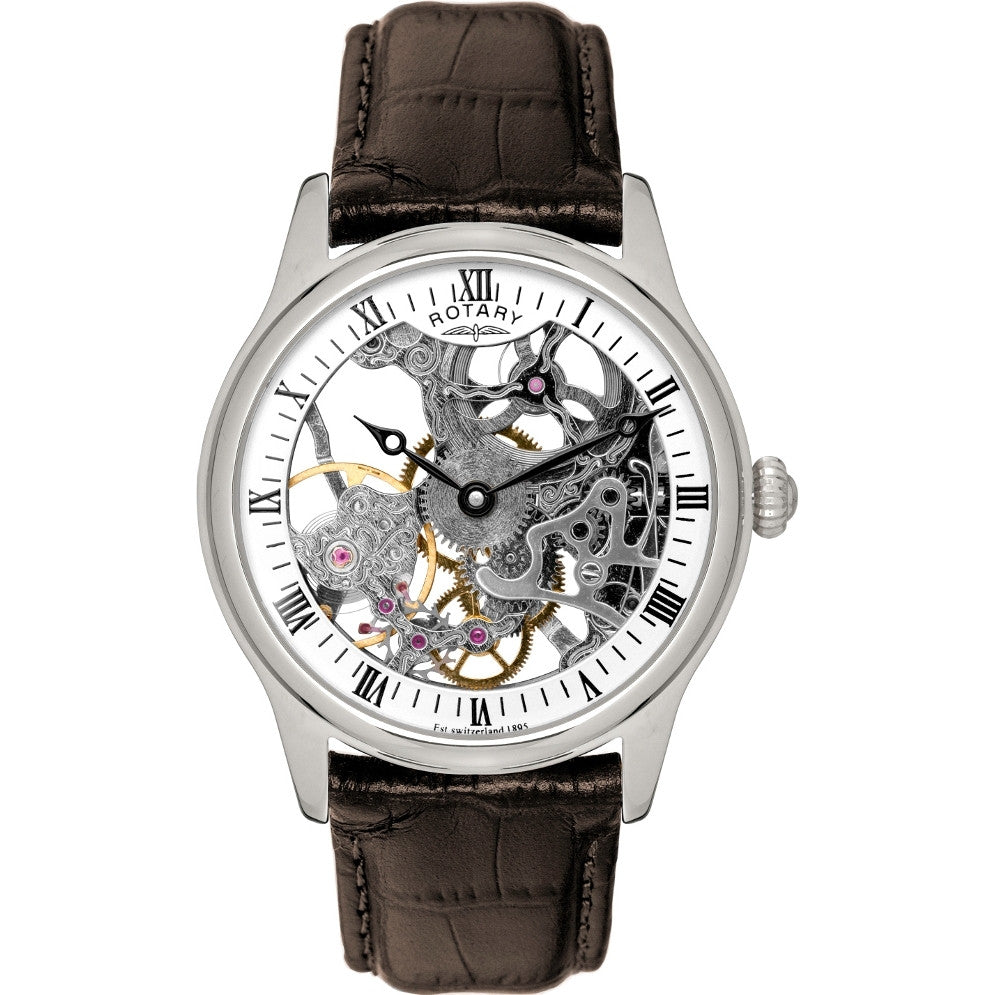 ROTARY GENTS LEATHER STRAP WATCH GS02521/06 - Robert Openshaw Fine Jewellery