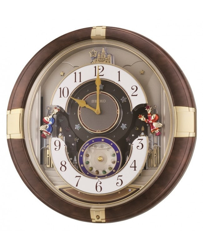 SEIKO MELODY IN MOTION WALL CLOCK QXM333B
