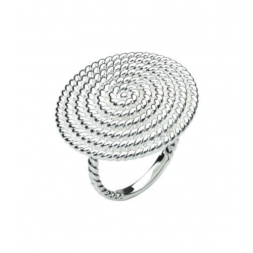 KIT HEATH SILVER RAVEL RING 20290HPN11 - Robert Openshaw Fine Jewellery