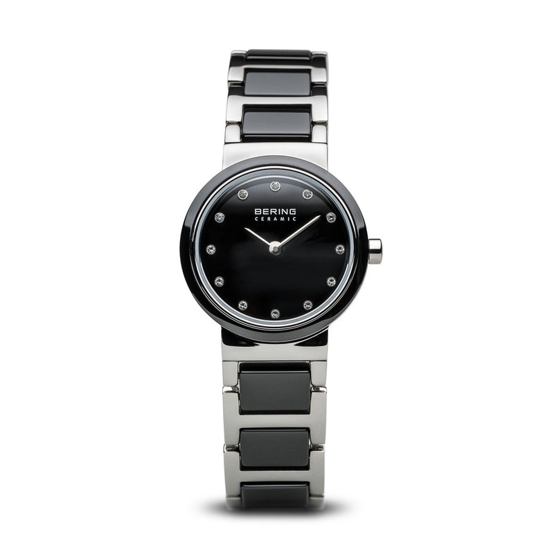 Bering Womens Ceramic Polished Silver Watch 10725-742 - Robert Openshaw Fine Jewellery