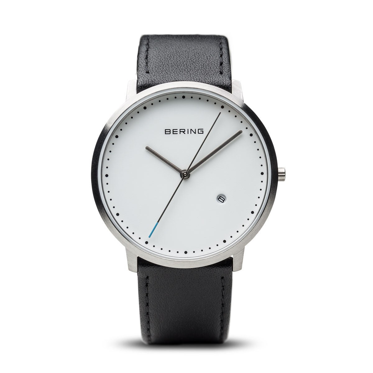 Bering Unisex Classic Brushed Silver Watch 11139-404 - Robert Openshaw Fine Jewellery