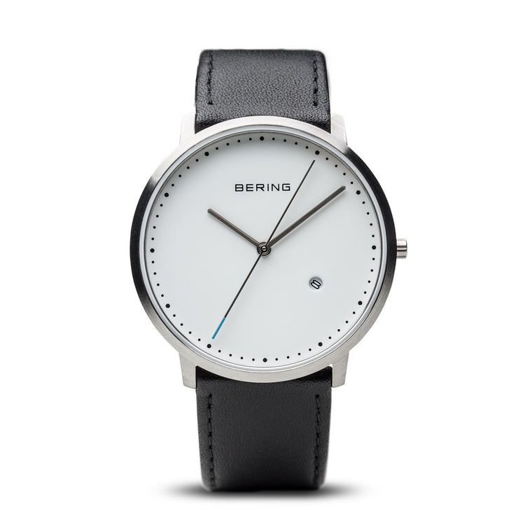 Bering Unisex Classic Brushed Silver Watch 11139-404