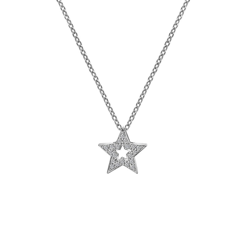 Hot Diamonds Striking Star Pendant DP697