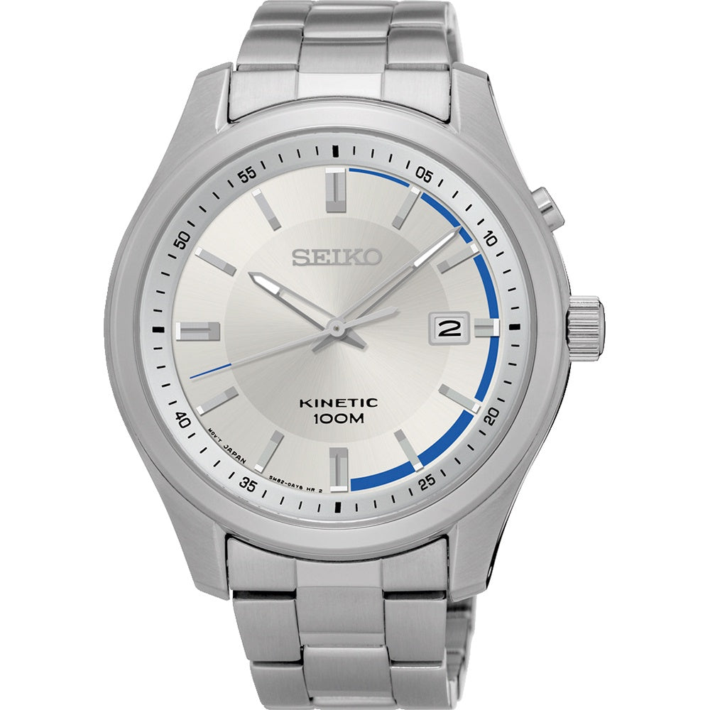 SEIKO GENTS 100M KINETIC WATCH SKA717P1 - Robert Openshaw Fine Jewellery
