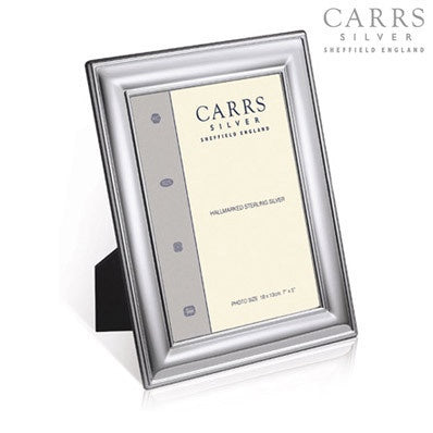 CARRS SILVER PLATED 6X4 PHOTOGRAPH FRAM LRWF382*BXS-SP - Robert Openshaw Fine Jewellery