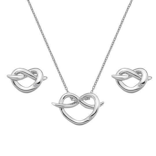 Hot Diamonds Infinity Heart Gift Set SS112
