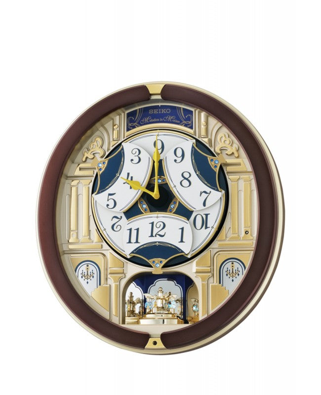 SEIKO MELODIES IN MOTION WALL CLOCK QXM356B
