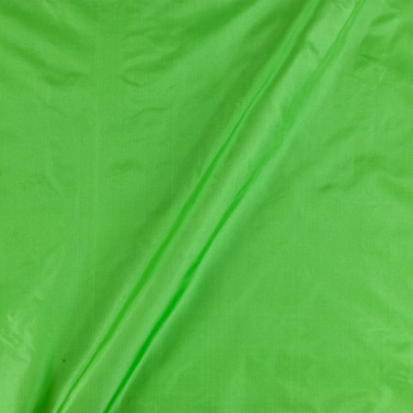 Pure Silk Acid Green Colour Fabric
