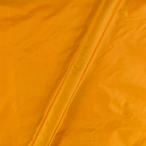 Plain Silk Mustard Colour Fabric