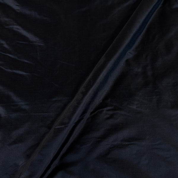 Plain Silk Midnight Blue Colour 43 inches Width Fabric