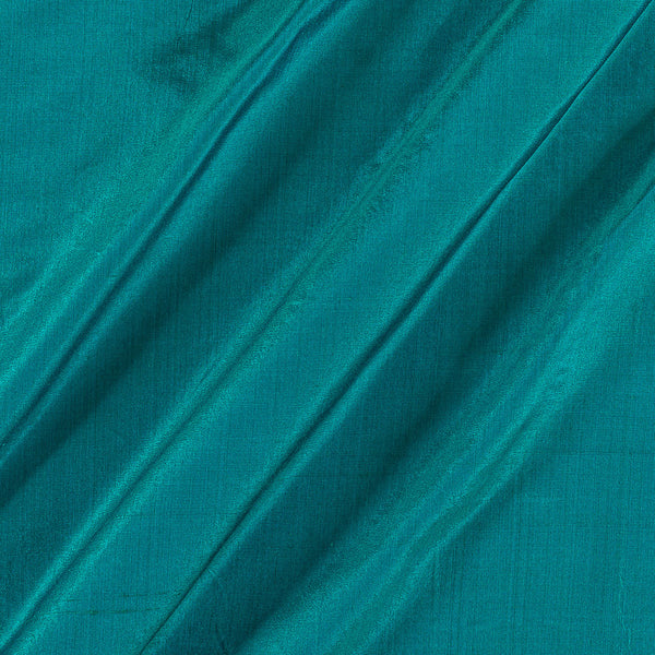 Pure Silk Sea Blue Two Tone Fabric