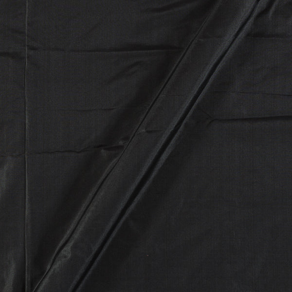 Pure Silk Black Colour 43 inches Width Fabric