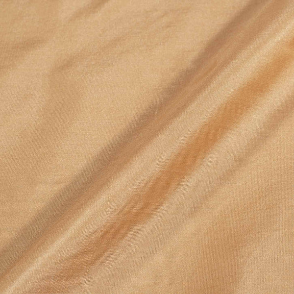 Plain Silk Dark Beige Colour Fabric