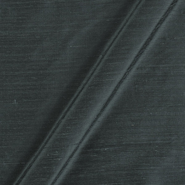 95 gm Pure Handloom Raw Silk Dark Shadow Colour 41 Inches Width Fabric