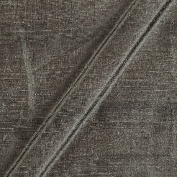 95 gm Pure Handloom Raw Silk Ecru Colour 41 Inches Gold Fabric