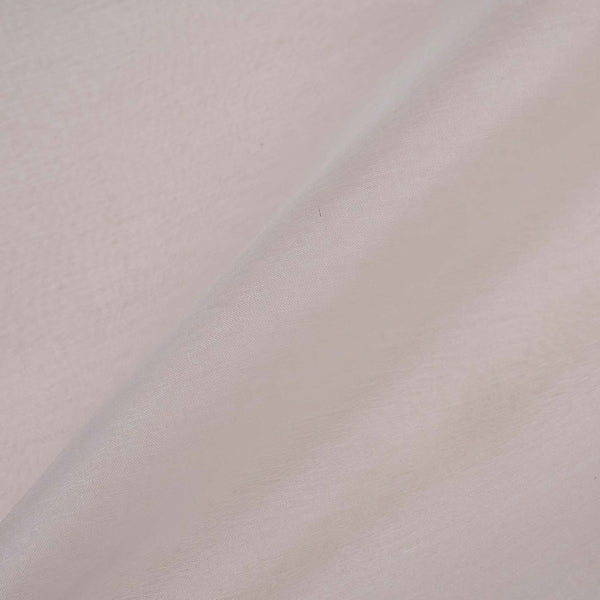 White Colour 27 gm Organza Dyeable Fabric