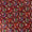 Maroon Colour Digital Patan Patola Print Gaji Fabric