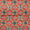 Gaji Patan Patola Digital Print Red Orange Colour 45 Inches Width Fabric