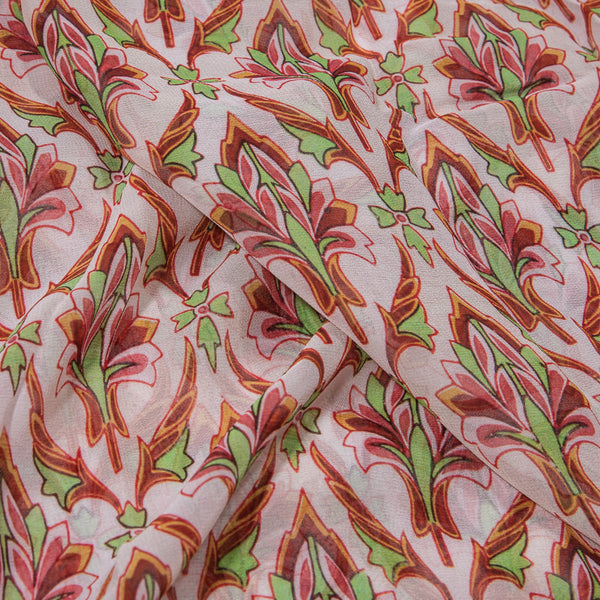 Floral Print Georgette Fabric