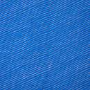 Royal Blue Colour Digital Leheriya Print Poly Georgette Fabric