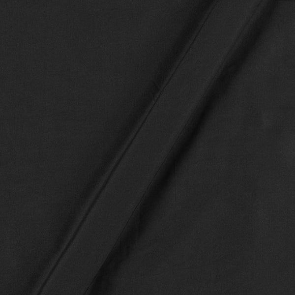 Butter Crepe Black Colour 40 inch Width Fabric