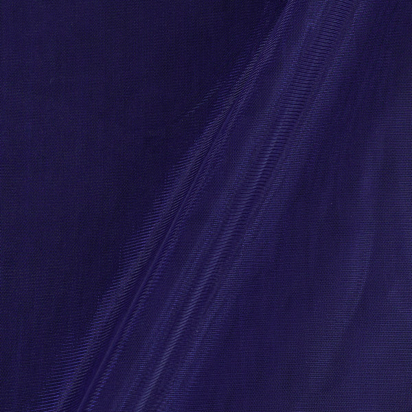 Mono Net Royal Blue Colour  Plain Dyed 45 inches Width Fabric