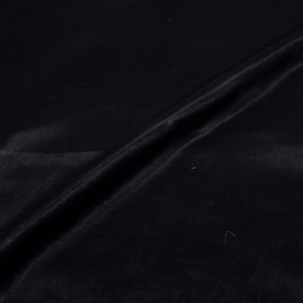 Mashru Gaji Dyed -Black Fabric