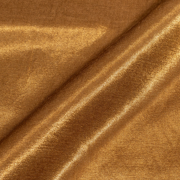 Bronze Colour Mashru Gaji Fabric