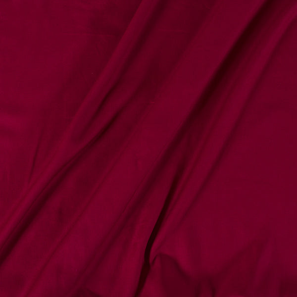 Rayon Dark Maroon Colour 42 inches Width Plain Dyed Fabric