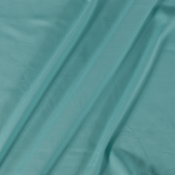 Rayon Mint Colour Plain Dyed Fabric