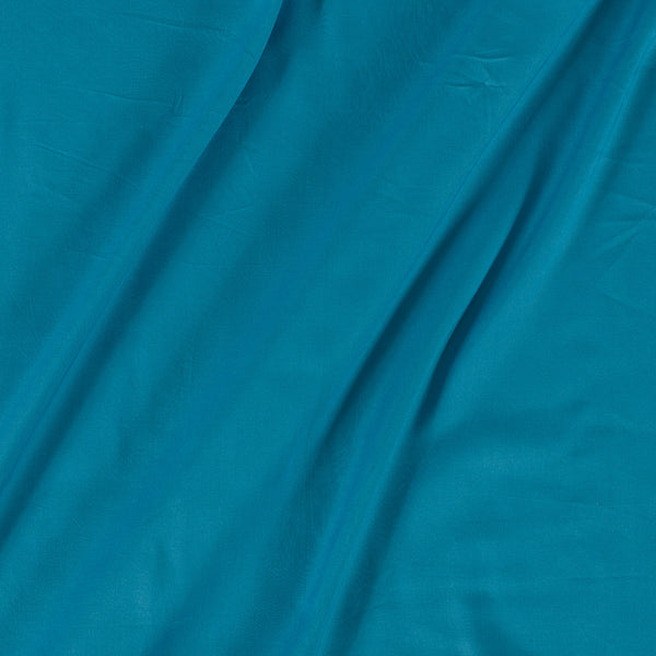 Rayon Sky Blue Colour 42 inches Width Plain Dyed Fabric
