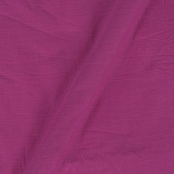 Candy Pink Colour Slub Cotton Fabric