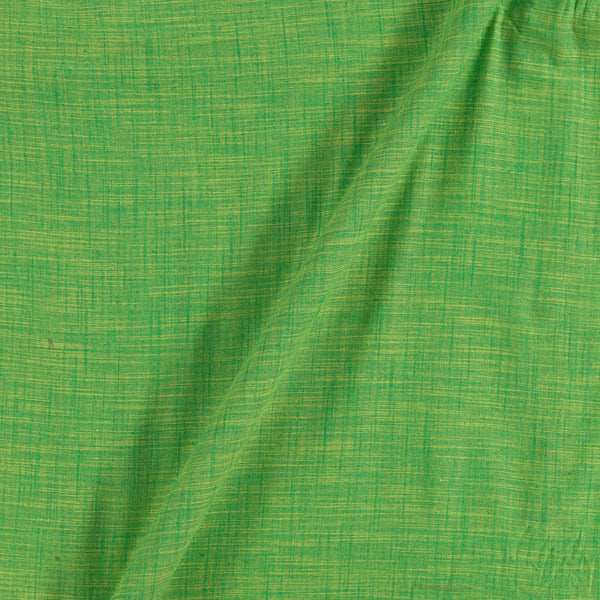Slub Cotton Green To Yellow Mix Tone 43 inches Width Fabric