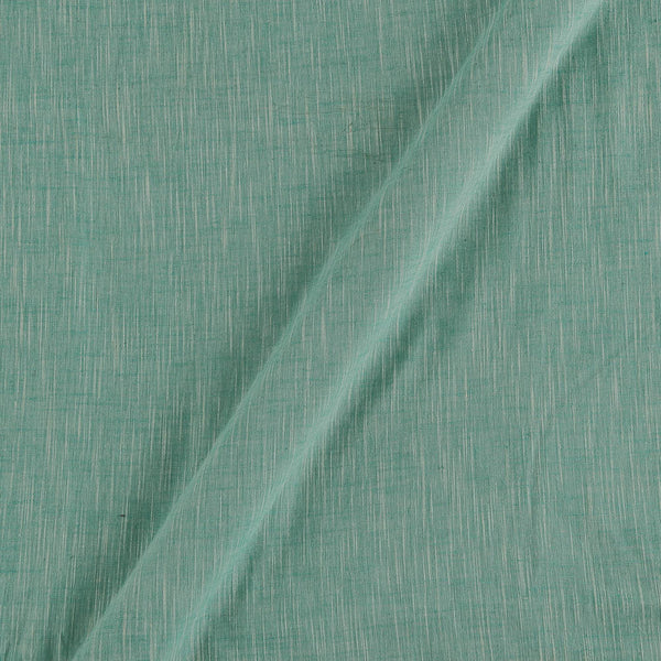 Slub Cotton Mint Colour 43 Inches Width Fabric