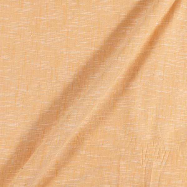 Slub Cotton Butterscotch Colour 43 inches Width Fabric