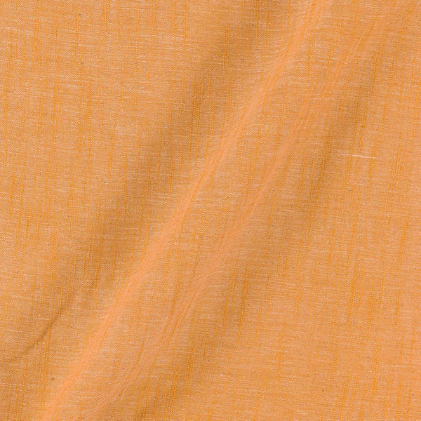 Slub Cotton Ginger Colour 43 inches Width Fabric
