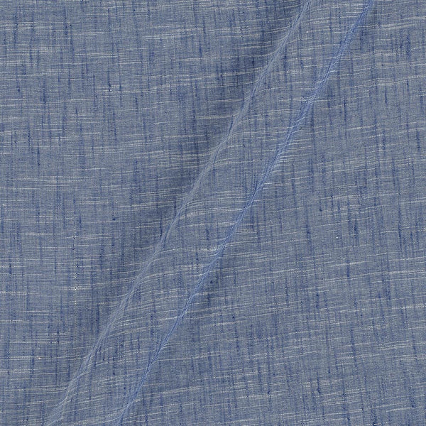 Slub Cotton Dove Grey To Blue Colour 43 inches Width Fabric