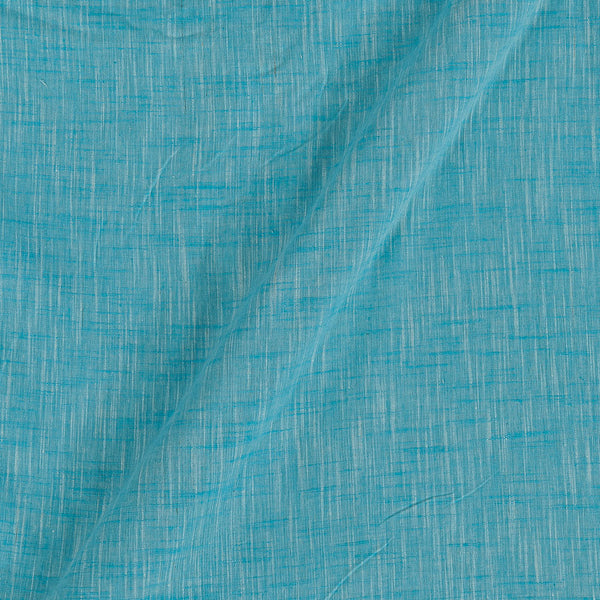 Slub Cotton Light Blue Colour 43 Inches Width Fabric