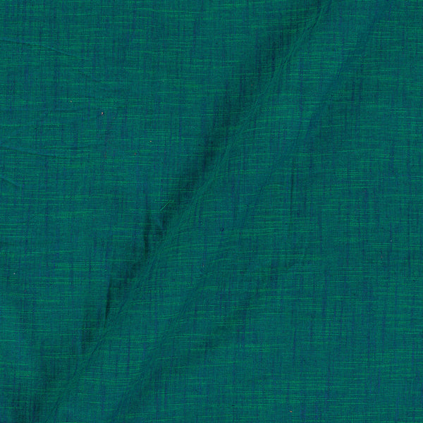Slub Cotton Green To Blue Tone 43 Inches Width Fabric