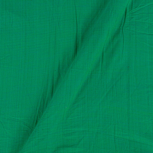 Slub Cotton Green Colour 43 Inches Width Fabric