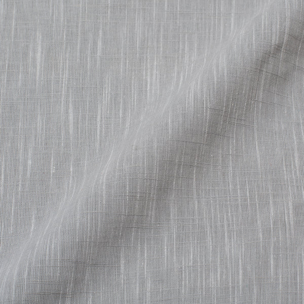 Slub Cotton Storm Grey Colour 43 Inches Width Fabric